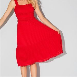 Gianni Bini Snyder Dress Red